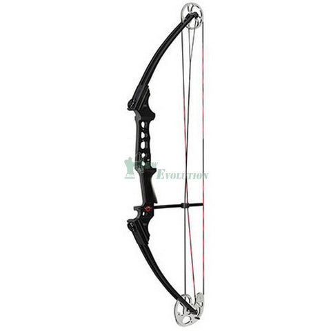 Mathews Genesis Pro Compound Bow Side View Black/Chrome