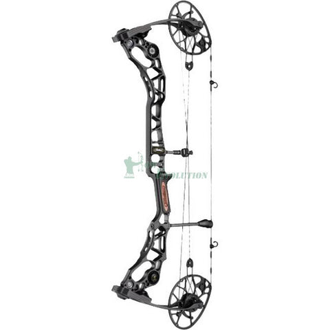 Mathews Halon 7 Compound Bow side view Black
