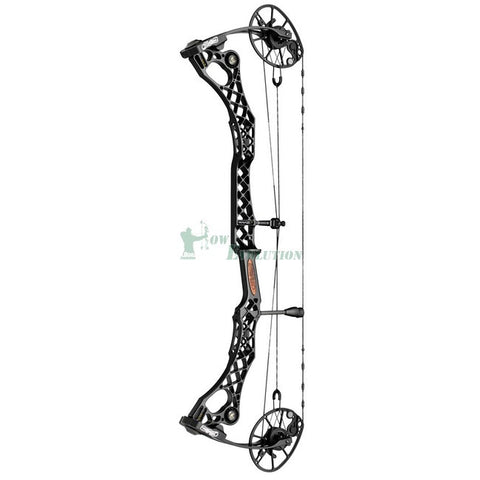 Mathews Monster Wake Compound Bow Side View Black