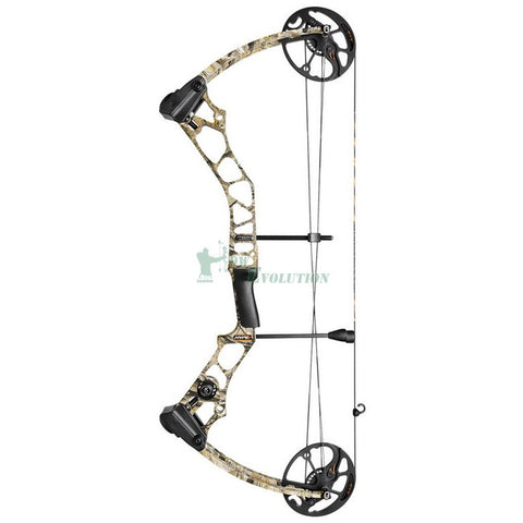 Mission Hype DT Compound Bow Side View Lost Camo