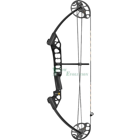 Mission Menace 2 Compound Bow Side View Black