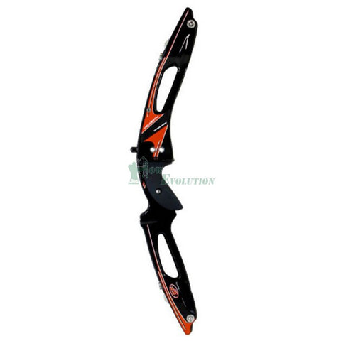 SF  Velocity Takedown Recurve Riser Side View Black