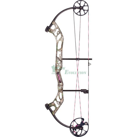 Bear Prowess Compound Bow Ready To Hunt Set Realtree Side View