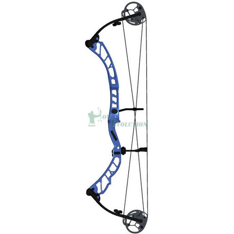 Elite Victory 37 Target Compound Bow Side View Blue