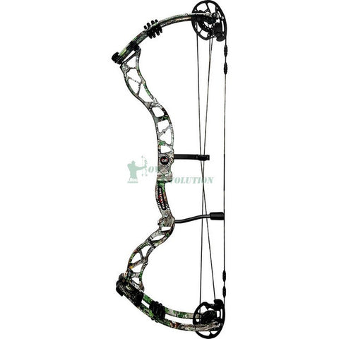 Obsession Hashtag Compound Bow Set Side View RealTree Xtra