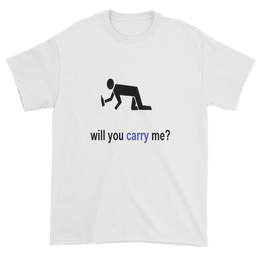 Short Sleeve T-Shirt Carry Me - Yakir China Store