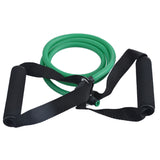 120cm Yoga Pull Rope Fitness Resistance Bands Exercise Tubes Practical Training Elastic Band Rope Yoga Workout Cordages 1PC - Yakir China Store