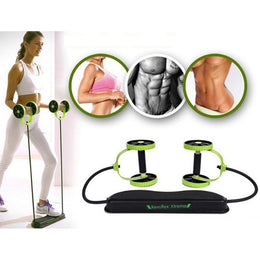 Crane Fitness Powful Abdominal Trainer Resistance Body Exercise Equipment Set