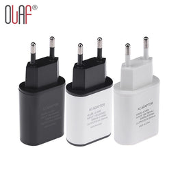 New Top Quality EU Plug 5V 2A USB Charger Fast Wall Travel Mobile Phone Charger Adapter For iPhone 5 6 6s 7 Plus Samsung LG HTC - Yakir China Store