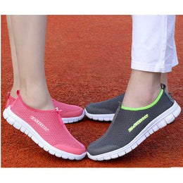 New Men/Women Light Mesh Running Shoes, Athletic Sport Shoes Comfortable Breathable