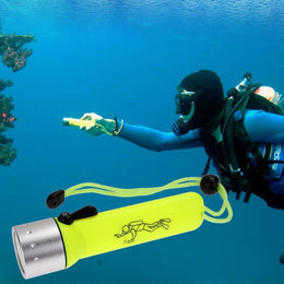 New  Underwater Diving flashlight LED  waterproof Dive Torch