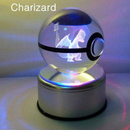 pokemon Crystal Transparent Glass Ball