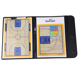 New Basketball Coaching Board Coaches Clipboard Dry Erase w/marker basketball Strategy Board Tactics Luxury Version ISP - Yakir China Store