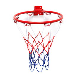 32cm/45cm Wall Mounted Hanging Basketball Goal Hoop Rim Net Metal Sporting Goods Netting indoor or outdoor for basketball game - Yakir China Store
