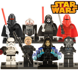 Star Wars Black Shadow Stormtroopers Kallus R5D4 Robot Building Blocks Children toys
