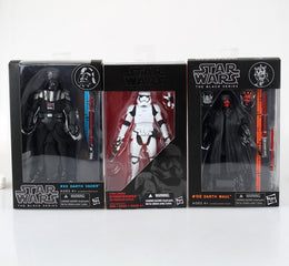 Star Wars Darth Vader Stormtrooper Darth Maul PVC Action Figure Collectible Model Toy 15-17cm