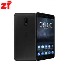 new Hot Original Nokia 6 LTE 4G Mobile Phone Android 7 Qualcomm Octa Core 5.5'' Fingerprint