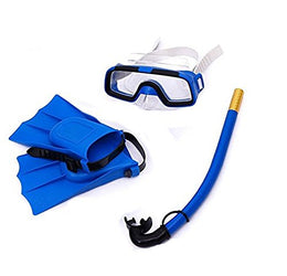 3PCS/Lot Children kids Silicone Snorkel set Swimming Diving