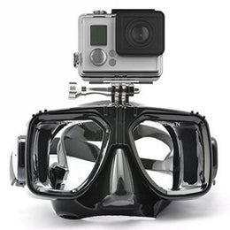 Gopro Scuba Diving Mask Silicone Tempered Glass Adult Diving and Snorkeling Equipment