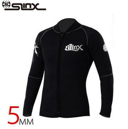 SLINX 5mm Neoprene Long Sleeve Unisex Wetsuit Jacket  Surfing