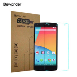 Nexus5 2.5D 0.26mm 9H Premium Tempered Glass For LG Google Nexus 5  With Retail Box