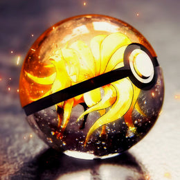 3D Crystal Ball Pokemon Go Light Glass Ball