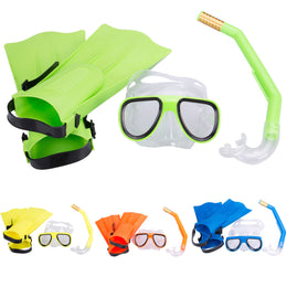 Panoramic Snorkeling Diving set  3pcs Snorkels  Kit