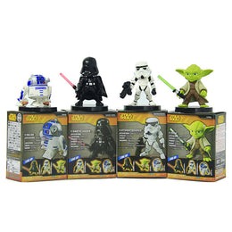 Star Wars 6cm Yoda Darth Vader R2-D2 Robot Stormtroopers Action Figure