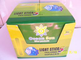 125pcs/25bags 4.5 *37mm High Quality Fishing Glow Sticks  sticklights