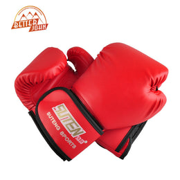 SUTEN brand PU leather sport training equipment Boxing Gloves Kick boxing MMA Training Fighting Sandbag Gloves Sanda mittens - Yakir China Store