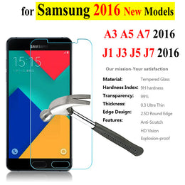 0.3mm Tempered Glass For Samsung Galaxy A3 A5 A7 - Yakir China Store
