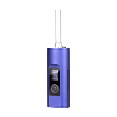 Arizer Solo II Blue with glass mouthpiece