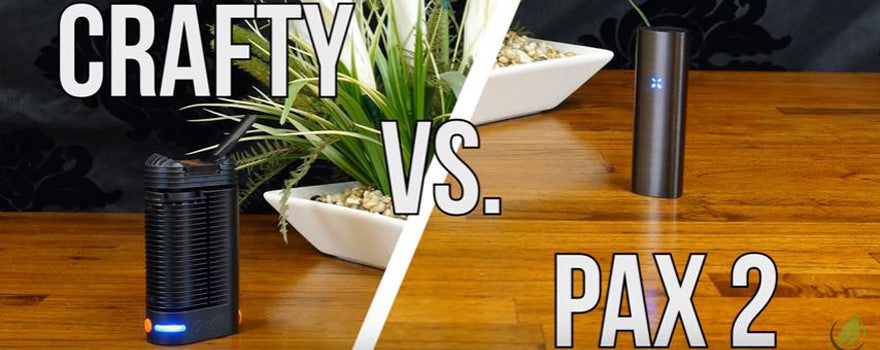 Crafty vs PAX 2: Vaporizer Comparison | Australian Vaporizers