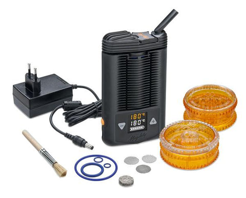 Mighty Vaporizer Complete Set with Acrylic Volcano Grinder