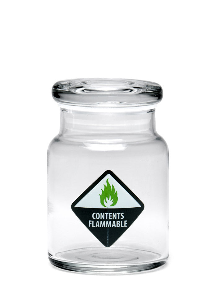 DISCONTINUED Small Pop Top Jar (150ml) - 420 Science