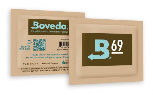 DISCONTINUED 69% Boveda Humidipak - Humidity Control (8 Gram)