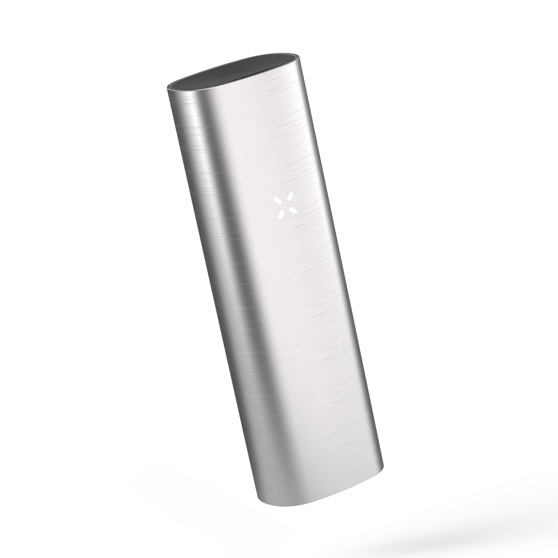 Pax 2 silver color tilted left