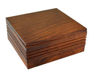 11cm x 11cm Wood Pollen Box w/ Magnetic Lid