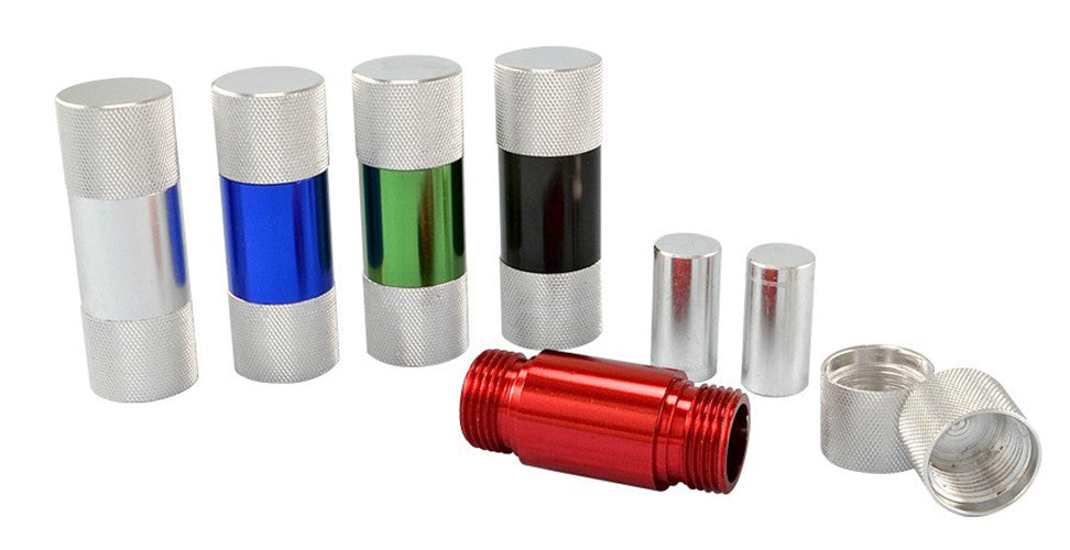 DISCONTINUED 58mm x 19mm Aluminium Pollen Press (5 pc)