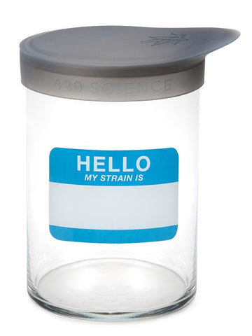 Large Wide-Mouth Jar w/ Silicone Lid (946ml) - 420 Science