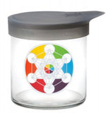 Medium Wide-Mouth Jar w/ Silicone Lid (710ml) - 420 Science