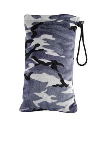 Gray Camo Bug Rugz Padded Pouch - Large