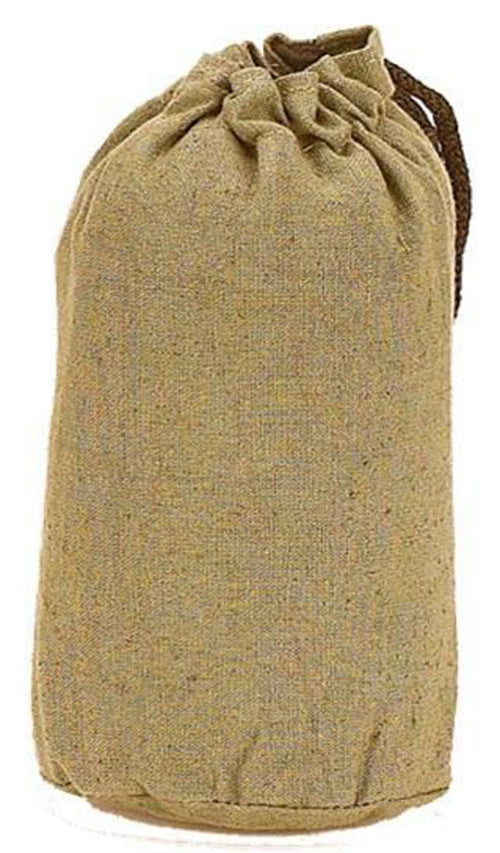 "DISCONTINUED 3"" x 6"" Hemp Tube Pouch"
