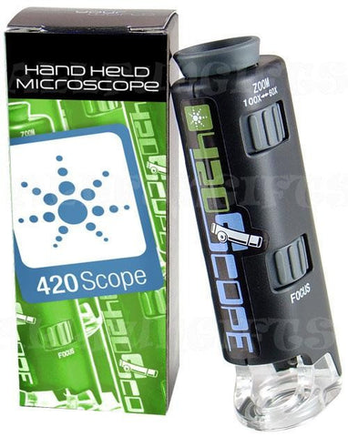 Handheld Microscope by 420 Science