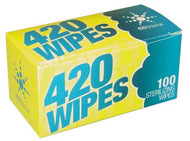 420 Sterilizing Wipes - 100 pack
