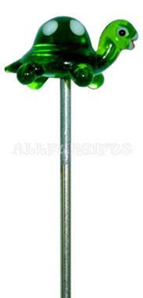 "5"" Glass Hair Pin/Poker Tool - Turtle"