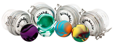 Oil Slick 50mm Slick Ball w/ Acrylic Jar
