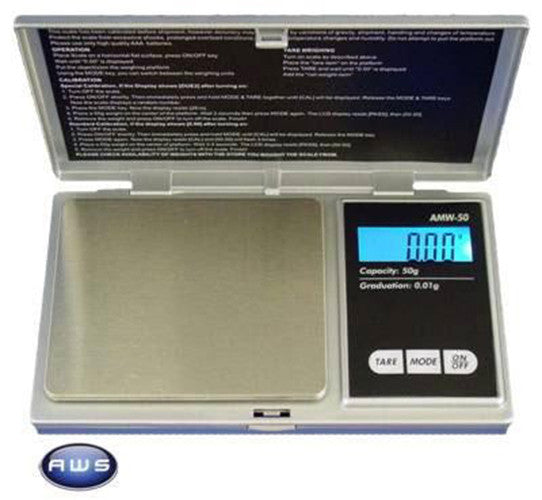 DISCONTINUED AWS AWS-600 Standard Digital Jewelry Scale 600g x 0.1g