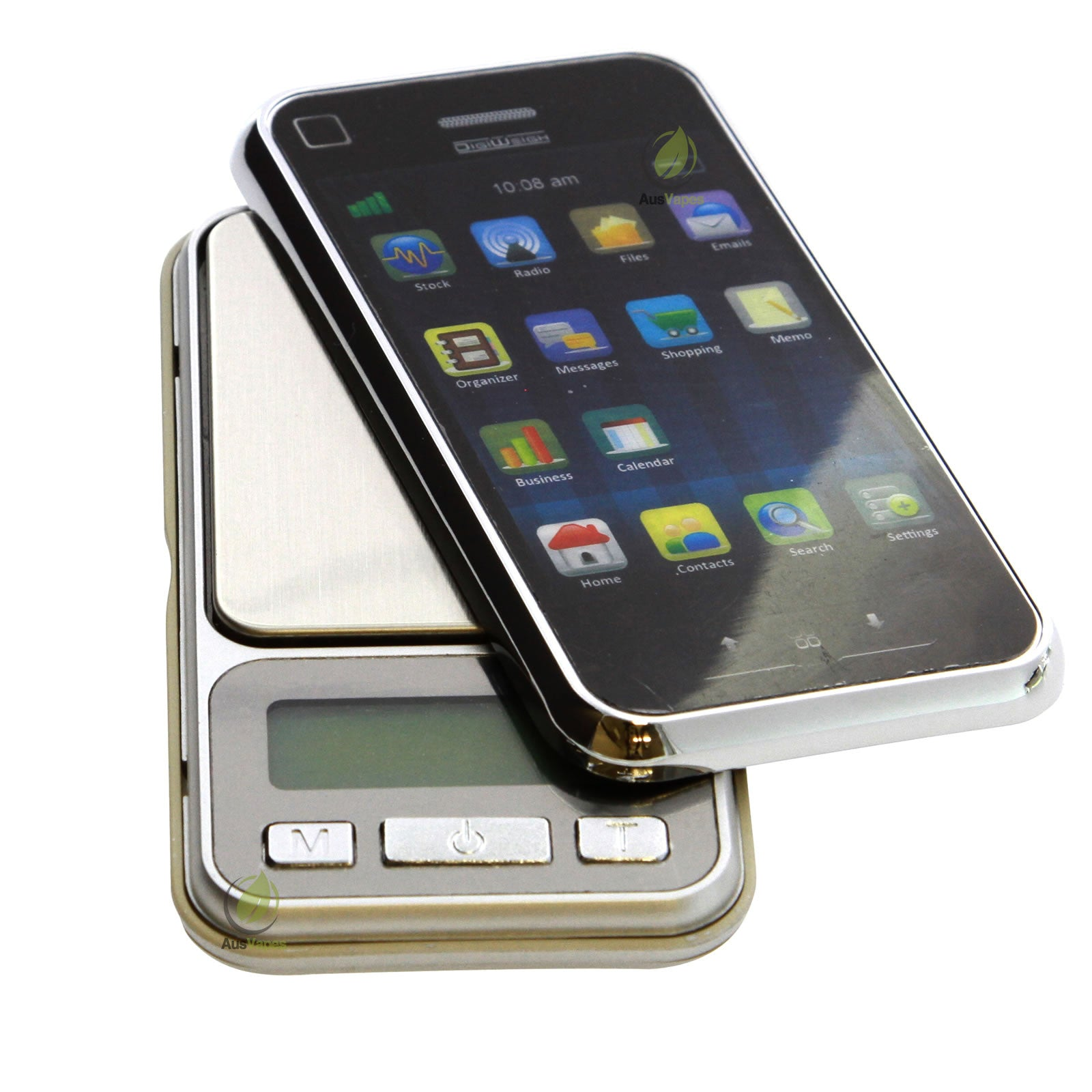 DISCONTINUED AWS Cell Phone Style Digital Scale 1000g x 0.1g