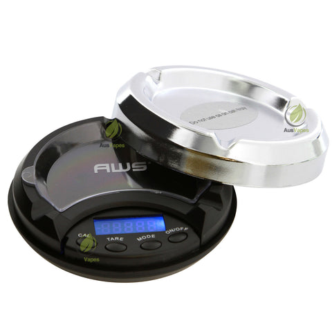 500g x 0.1g AWS Ashtray Style Digital Scale w/Tray